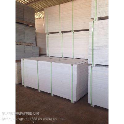 白银工厂价批发12mm玻镁板 米白色