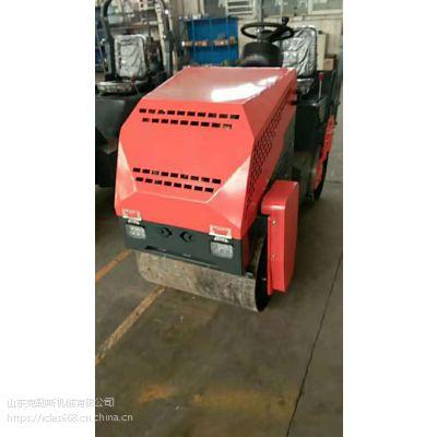 【一吨压路机】座驾式更舒服 小型压路机界的颜值担当【克勒斯小红牛压路机】