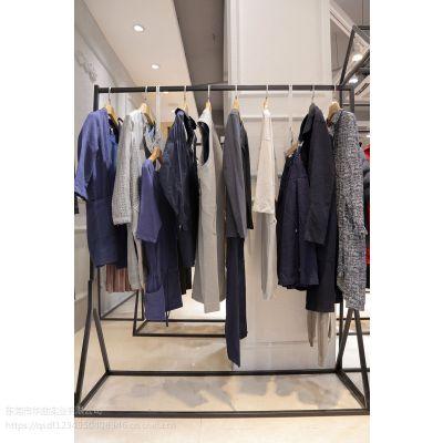迪笛欧品牌女装折扣批发视频折扣 女装品牌专卖店加盟尾货银色多种款式