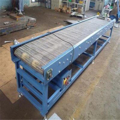 辽宁不锈钢网带型输送机 提升爬坡输送