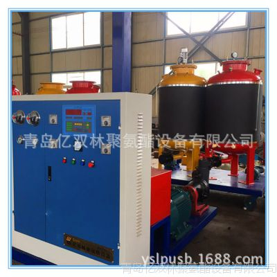 供应 PU聚氨酯保温管高压发泡机、供热热力采暖保暖PU发泡机价格