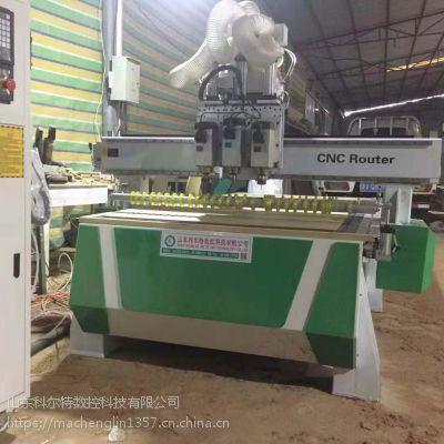 潍坊临朐科尔特木工雕刻机 临朐新代系统三工序开料机KET-1325