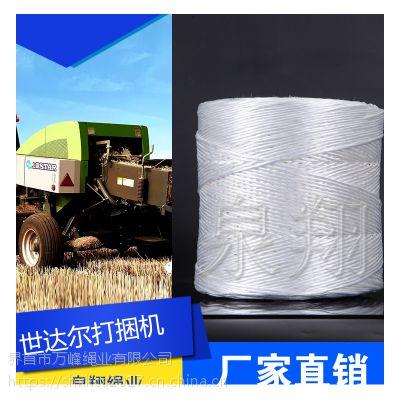 供应打捆绳泉翔生产拉力强出捆率高塑料捆扎打包华德机器使用世达尔