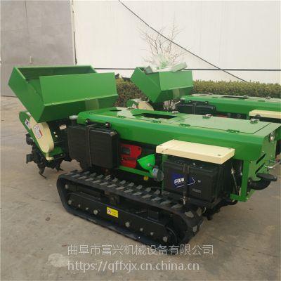 富兴大马力柴油动力旋耕除草机 28马力柴油开沟机 施肥回填机图片