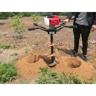植树挖坑机使用技术
