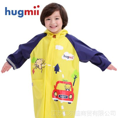 儿童透气男童女童小孩宝宝雨披轻薄雨衣小学生电动车透气