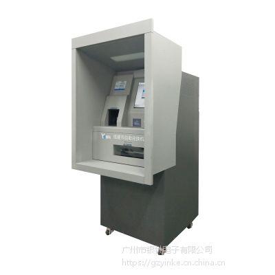 银科CATM600银行自助纸硬币兑换机银行专用硬币机