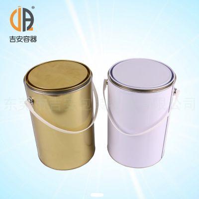 6L升油漆罐 马口铁罐 6公斤金属罐现货 厂家直销