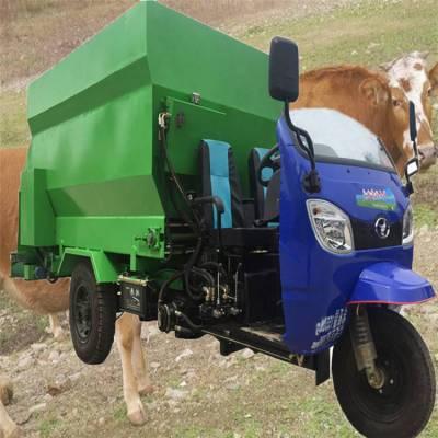 喂奶羊精饲料用撒料车 润丰 自动化喂料车价钱