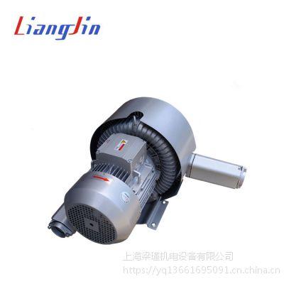低噪音工业纺织设备专用7.5KW双叶轮高压鼓风机