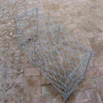 格宾河道石笼网 高原养殖石笼网围栏 镀锌包塑铁丝网