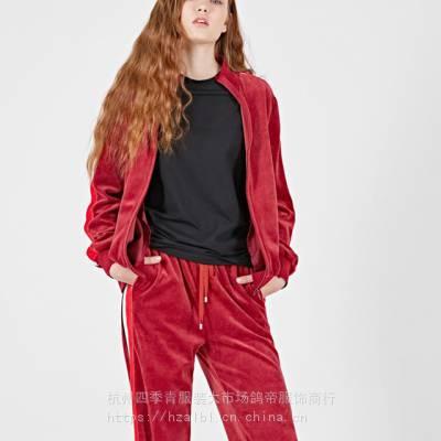 阿莱贝琳米莱品牌折扣专柜女装批发 一线品牌女装分份库存尾货大码大淑装