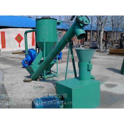 喀什节能环保秸秆生物燃料制棒机设备 生物质燃料生产厂家燃料体积小