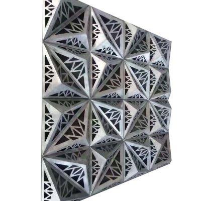铝合金幕墙镂空铝板 2.5mm雕花铝单板包柱