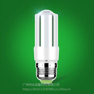 厂家直供合创星新品 LED灯泡暖白E14小大螺口E27家用照明明亮节能LED5W10W15W26W