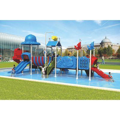 北京凯思生产水上用品水滑梯,儿童水上乐园小型水乐园游乐设备可加工定做