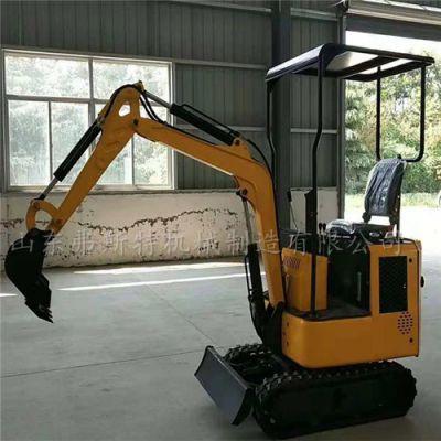 微型挖掘机价格 自重1.3吨的小挖机厂家弗斯特价低