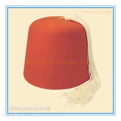 亚美尼亚米色流苏酒羊毛帽Armenia Tassels Cap, 土耳其羊毛帽