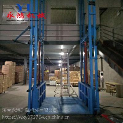 宁夏中卫电动升降梯, 导轨式液压电梯,工厂直销,支持定制