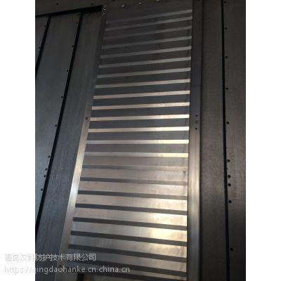 青岛汉科盔甲防护 柔性风琴铠甲式护罩 机床导轨防护罩 皮老虎 皮腔