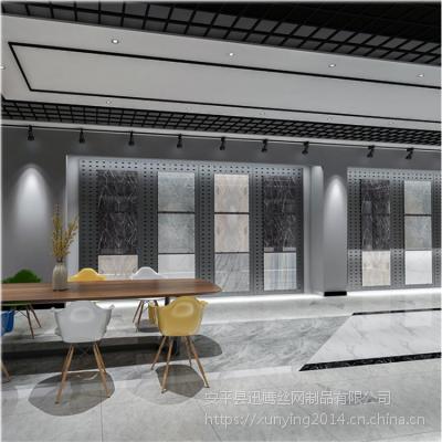 武汉地板砖网孔板@宜昌地砖网孔板展具@晋城陶瓷地砖展板