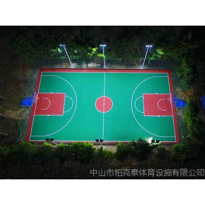 珠海篮球场灯杆灯柱价格 8米球场电线杆 柏克篮球场灯杆安装