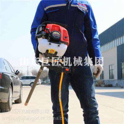 便携式单人背包勘探钻机BXZ-1做勘探轻巧灵便
