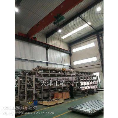 厂房管材货架伸缩悬臂式同时存放几十种管材 小空间大存储