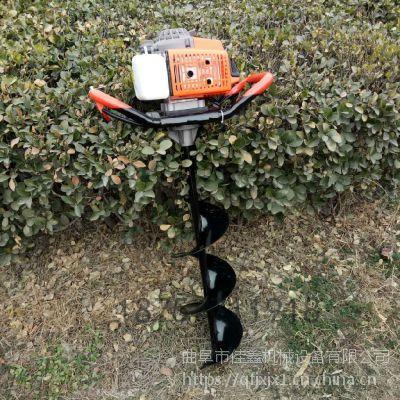 大马力植树挖坑机 佳鑫轻便打洞机 果园施肥钻坑机价格