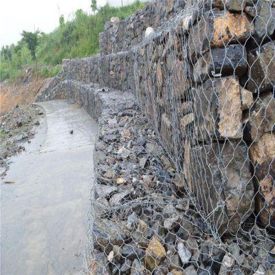 热镀锌格宾网石笼网 格宾网石笼护坡施工 水利工程雷诺护垫报价