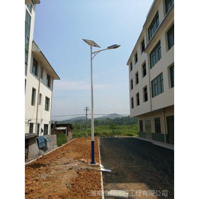 湘西永顺太阳能路灯厂家哪家好 浩峰照明 专业批发锂电池太阳能路灯