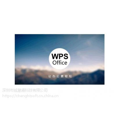 珠海常用WPS编辑软件供应