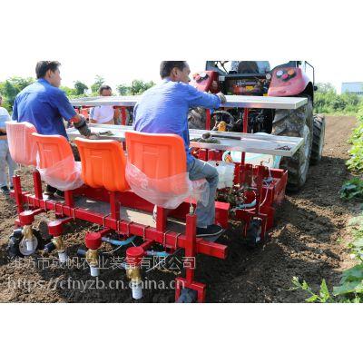 种植机械可节约成本节省劳动力成帆四行药材树苗栽苗机