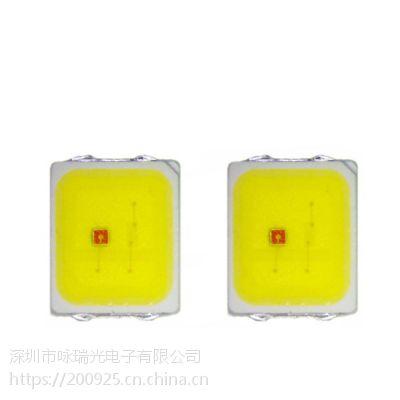 正品芯片LED2835双色贴片高品质低价格0.4W2835红白双色灯珠