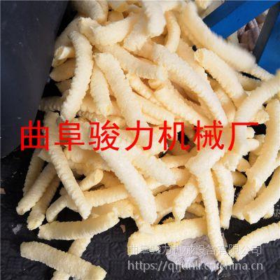 汽油机食品膨化机 海参型玉米棍机多少钱 弯管月牙型膨化机 骏力