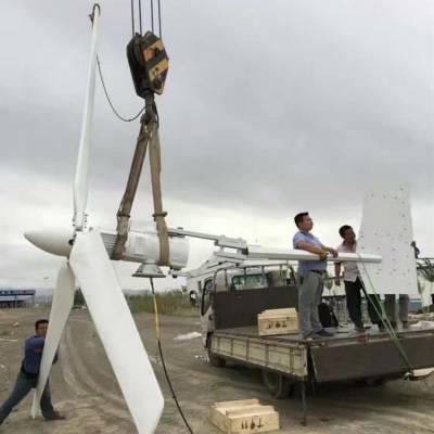 发电机扇叶 1000w1千瓦风力发电机组叶片 折尾保护型 水平轴3叶片 小型发电站 广西晟成