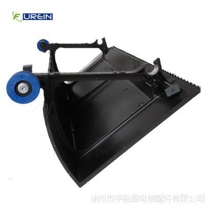 正品全新现货黑色无边框Mitsubishi1000型三菱自动扶梯不锈钢梯级