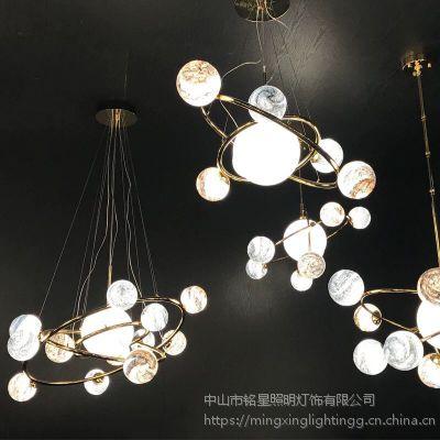 铭星 成功为国内吊灯定制项目完成商场酒店灯具设计配置生产 光立方灯具定制专家