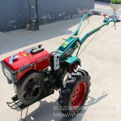 农用小型手扶拖拉机 优质多功能旋耕机 柴油犁地机