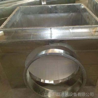 静压箱 可定制 镀锌板消声静压箱  白铁消声静压箱  阻抗式消声静