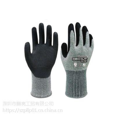 多给力WG-787超欧标5+防切割作业手套耐磨抗油透气柔软舒适优越抓握力