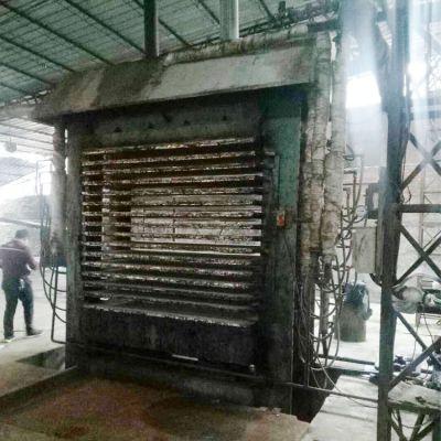 漳州华成16压15层二手小型压板机转让