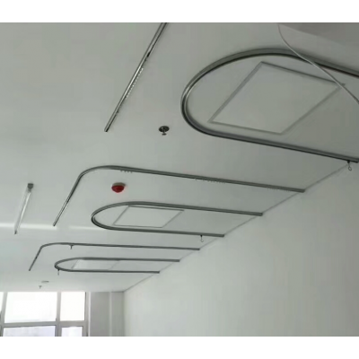 厂家供应铝合金医疗导轨输液滑轨床帘隔帘导轨