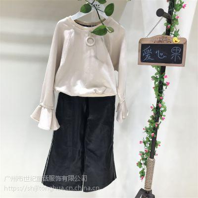 宁波童装批发市场爱心果童装卫衣品牌尾货货源