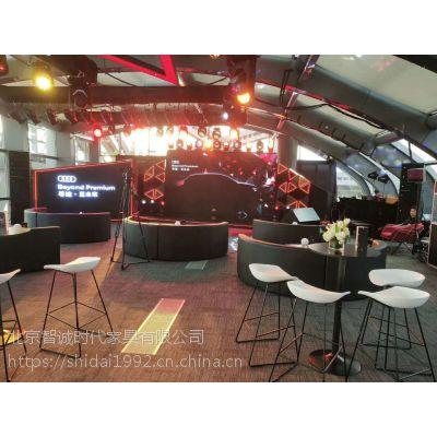 北京电音节沙发卡座 圆弧沙发租赁