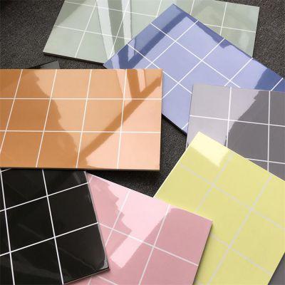 厨卫瓷砖300*600纯色 镜面釉内墙砖 幼儿园专用