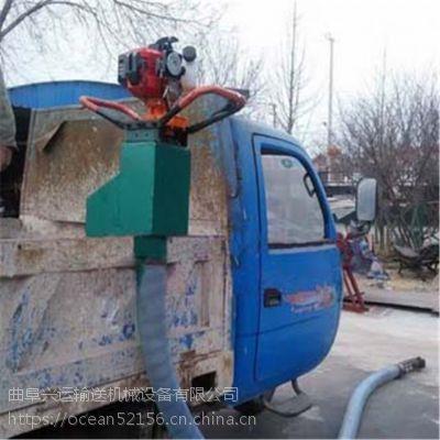 车载吸粮机供应商多功能 粮仓装车设备
