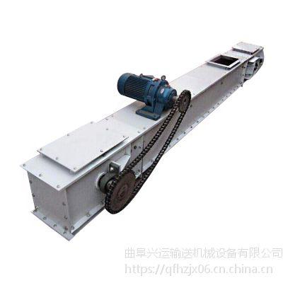 封闭的壳体内运动着的刮板链条加工定制 移动刮板运输机