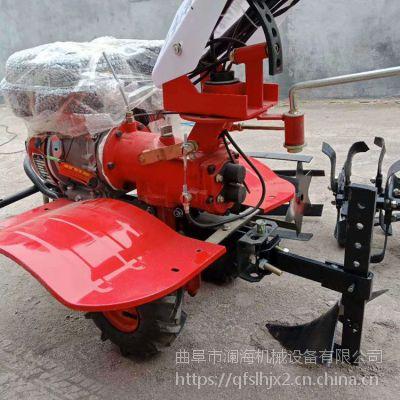 15马力便携式除草犁地机 小型手推自走式旋耕机