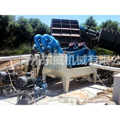 安徽沙场制沙生产线必备细沙回收机即尾沙回收机